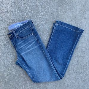 Gap long and lean jeans size 4 ankle